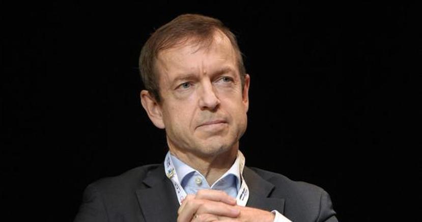 """Daniel Gros durante il dibattito """"Chi comanda in Europa"""" al Festival Economia Come a Roma"""